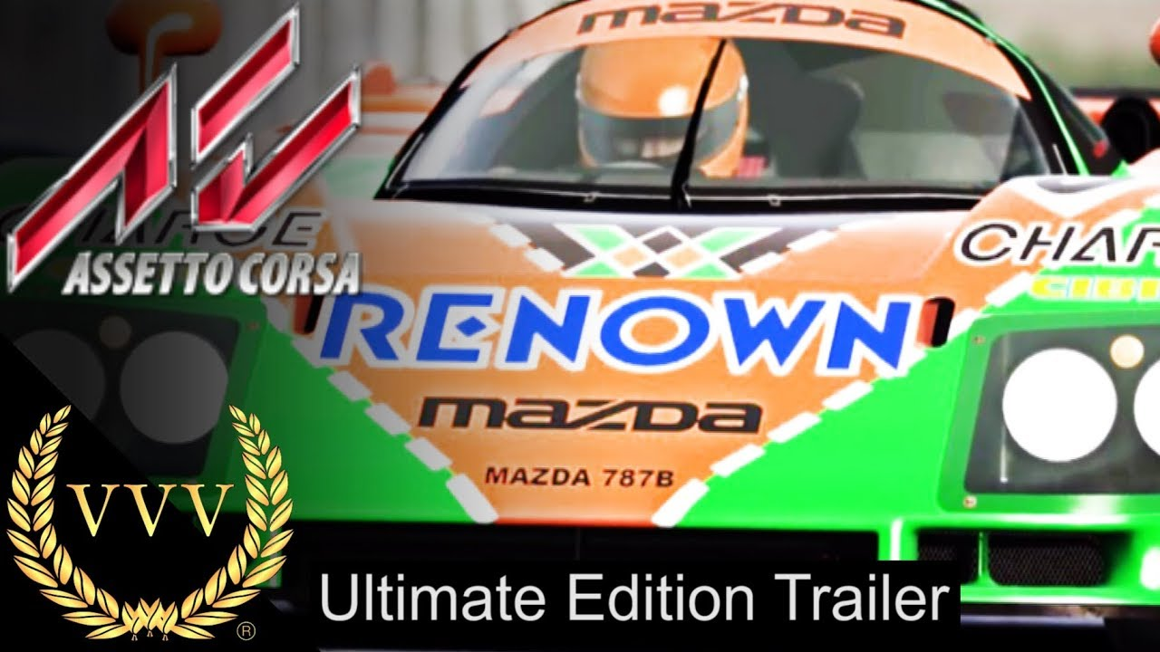 assetto corsa ultimate edition trailer youtube. Black Bedroom Furniture Sets. Home Design Ideas