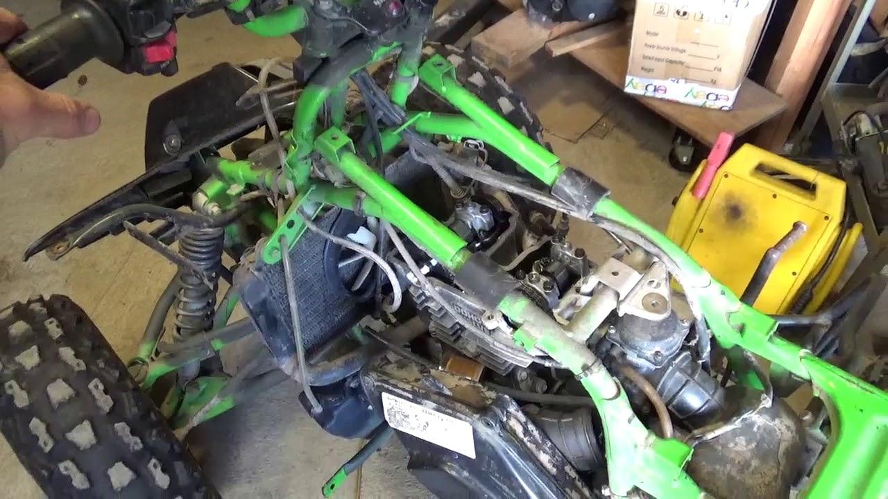 No Compression Kawasaki Mojave, cams and valve lash,