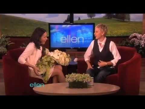 Ann Curry Surprises Ellen!