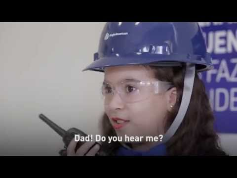 A child's eyes - Safety in the workplace
