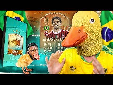 THE BEST BRAZIL STRIKER?! 88 FLASHBACK MILAN PATO! FIFA 19 ULTIMATE TEAM