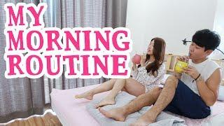 【モーニングルーティン】日韓夫婦の朝♥ ~My Morning Routine~