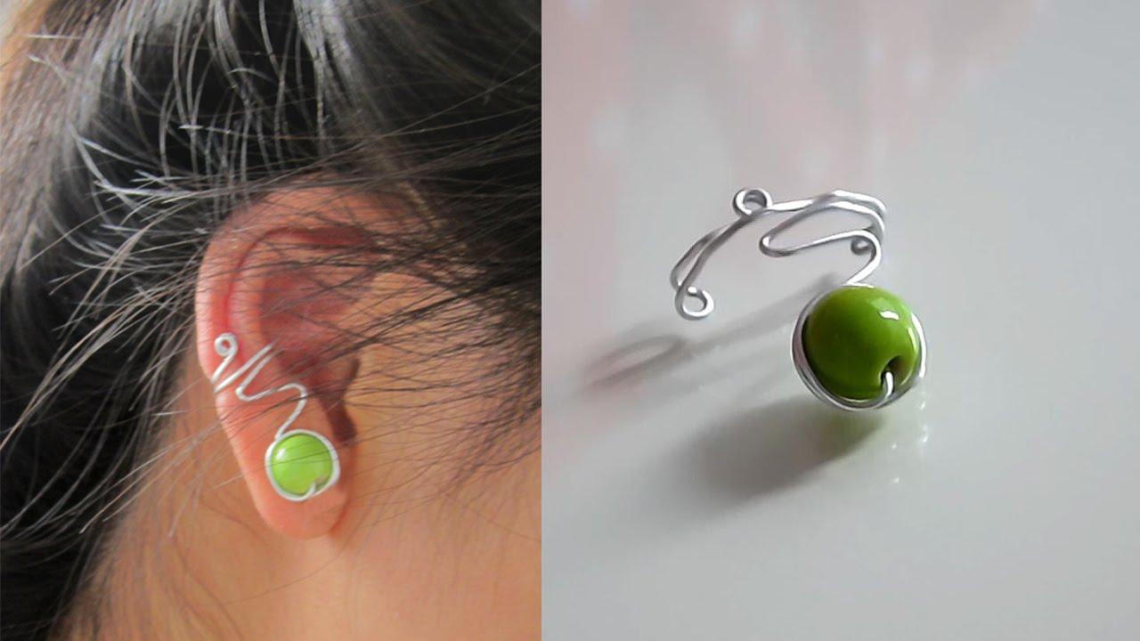 TUTORIEL - D.I.Y. : Easy ear cuff - Une simple bague d\'oreille #2 ...