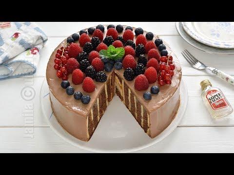 No-bake biscuits cake (CC Eng Sub) | JamilaCuisine