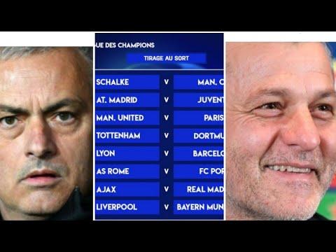 Tirage au sort Ligue des champions: PSG prend Manchester United, Barça pour OL