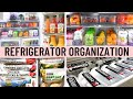 REFRIGERATOR ORGANIZATION IDEAS | Clean, Declutter and Organize With Me 2020 | Fridge Organization