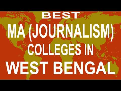 Best MA Journalism Colleges And Courses  In West Bengal