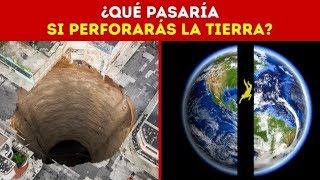 ¿Qué pasaría si perforas un agujero a través de la Tierra y saltas dentro de él?