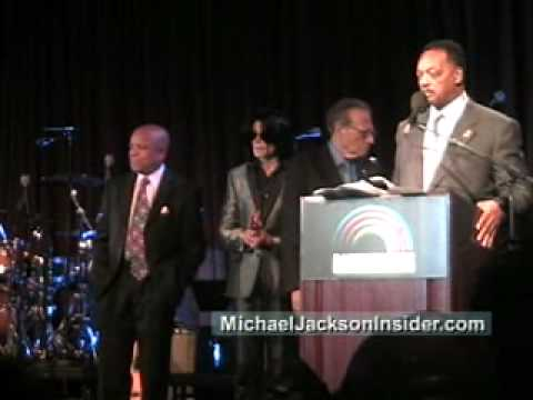 Michael and Jesse Jackson 2007