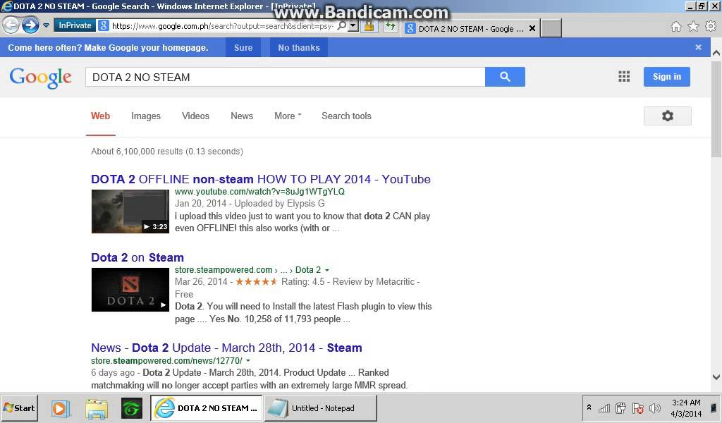 how to download dota 2 without steam youtube