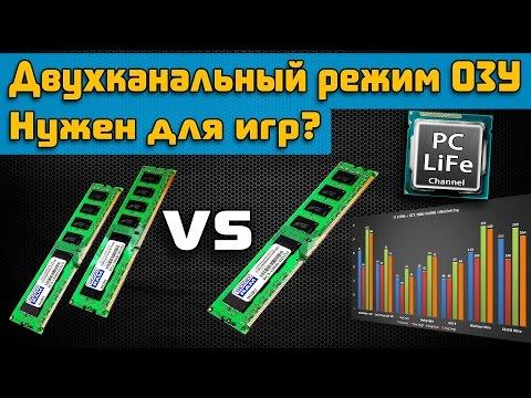 Для чего нужен двухканальный режим ОЗУ?
