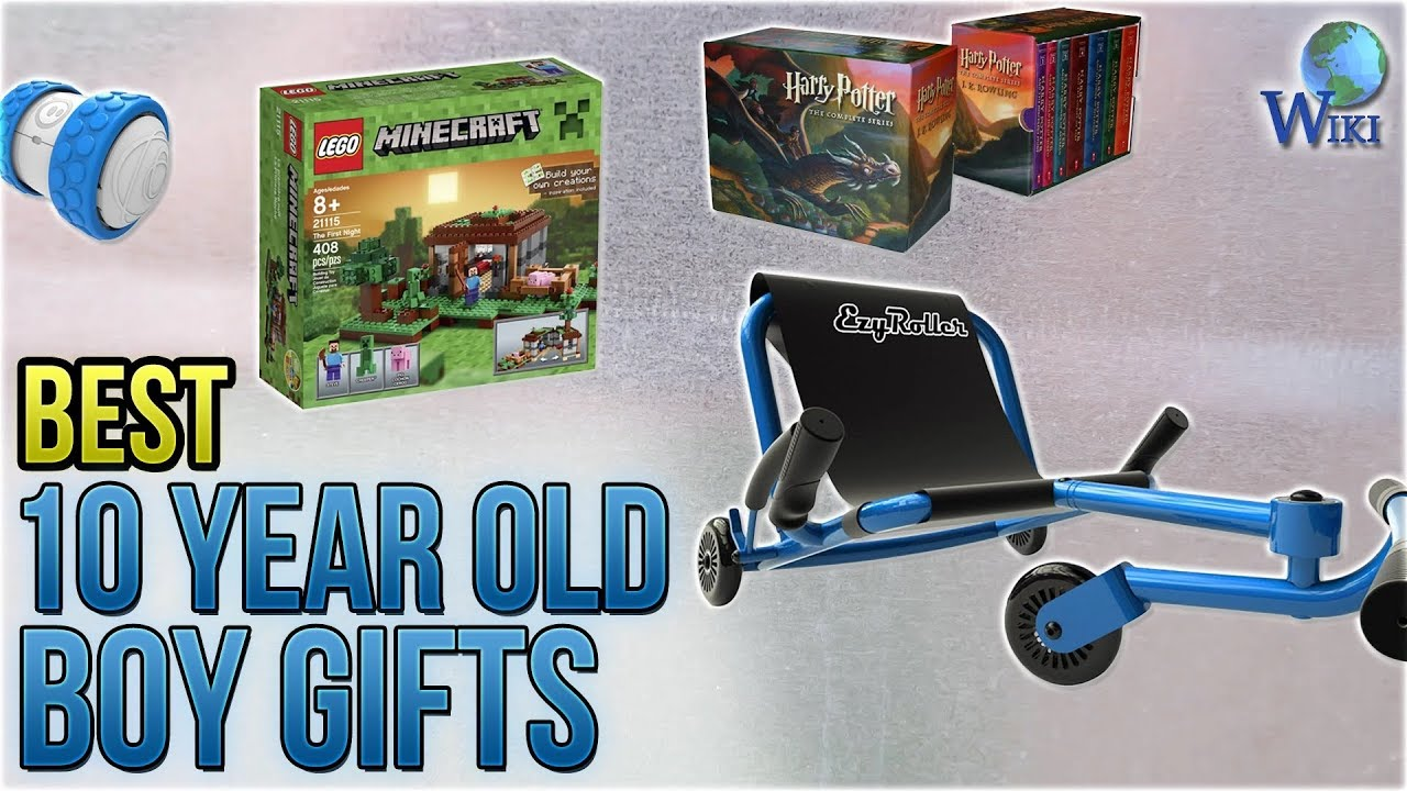 10 Best 10 Year Old Boy Gifts 2018 Youtube