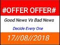 Future maker #OFFER# good and Bad News Decide