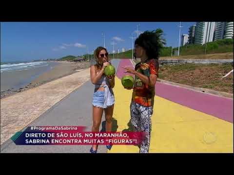 """Morador de São Luís ensina dicionário """"maranhês"""" para Sabrina Sato"""