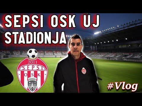 SEPSI OSK ÚJ STADIONJÁBAN JÁRTAM. (Fény-Hangpróba) thumbnail