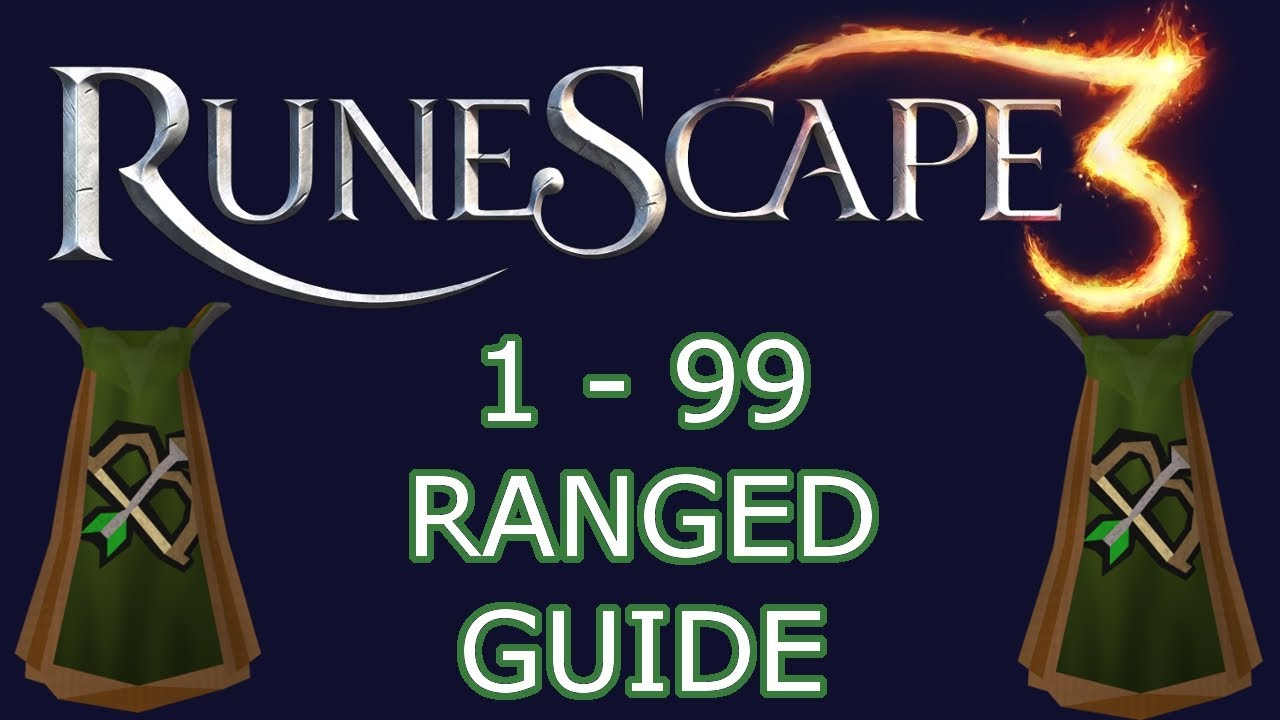 Runescape 3 1 99 ranged guide f2p youtube for Runescape exp table 1 99