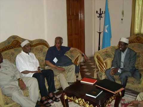 UN envoy Meets with Somali President Sheikh shariif Sh.ahmed حفظه الله  In Mogadishu.
