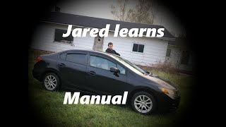 Jared Learns How to Drive a Stick Shift