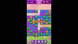 Candy Crush Saga Level 74  LEVEL HARD  NO BOOSTERS