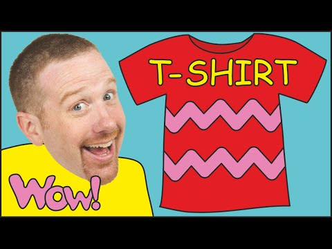 Song for Kids about T-shirts for Steve and Maggie | English for Children in Baby Song