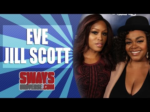 "Eve & Jill Scott Give Honest Thoughts on Iggy Azalea and her ""Blaccent,"" New Film + Jill Sings Live"