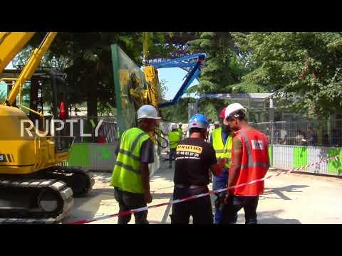 France: Bullet-proof Barrier To Protect Eiffel Tower Ahead Of Bastille Day