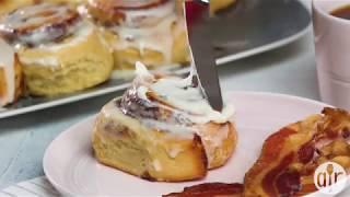 The Perfect Cinnamon Roll Icing | Breakfast & Brunch | Allrecipes.com