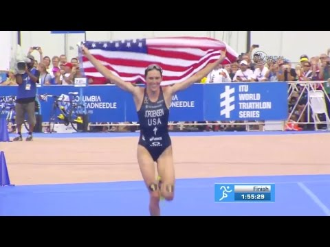 American Jorgensen wins Triathlon in Chicago - Universal Sports