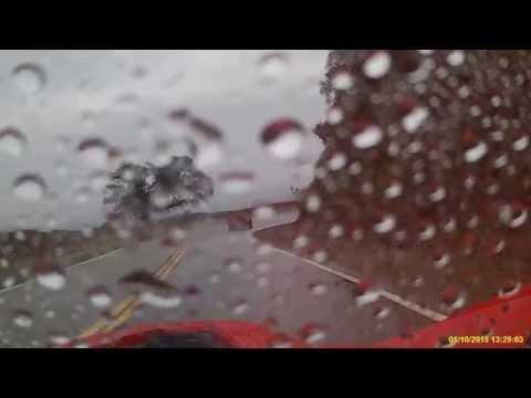 Slingshot to Crystal Lake in rain