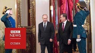 """Путин Тошкентда: Мирзиёев """"Россия таҳдидидан қўрқмайди""""ми?"""