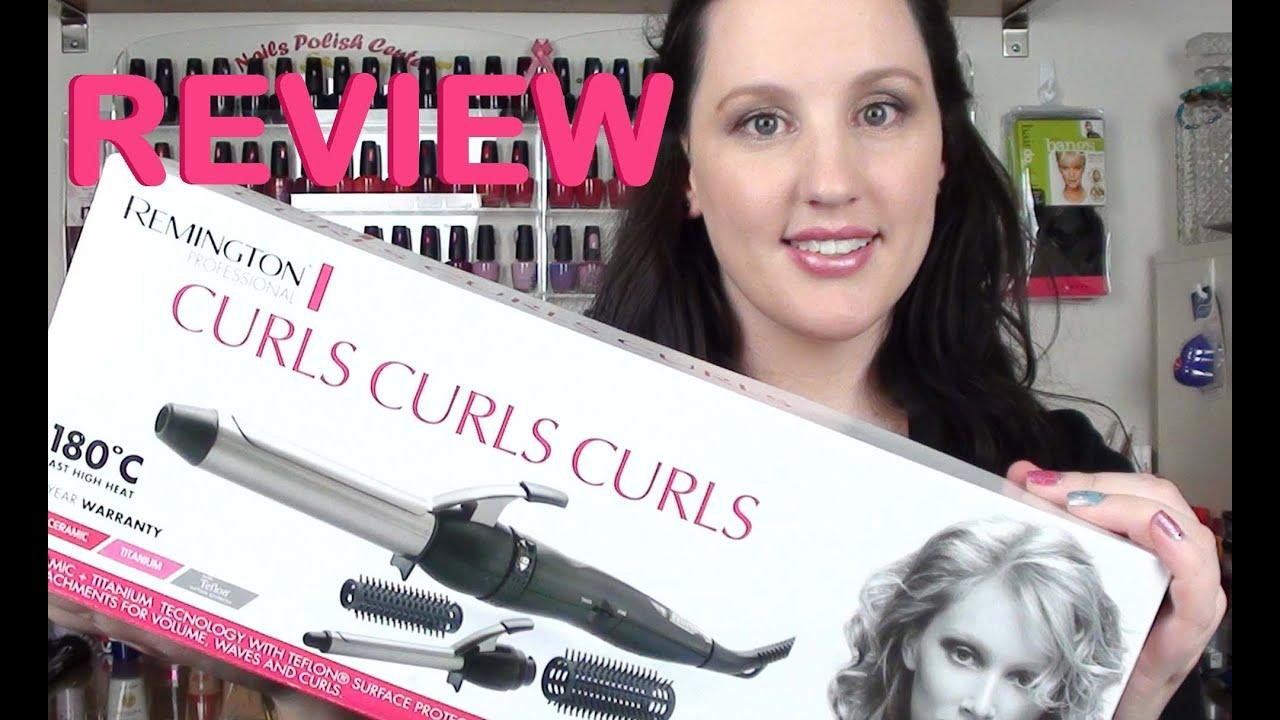 REVIEW  Remington Curls Curls Curls - YouTube 1fc56bb4ac1
