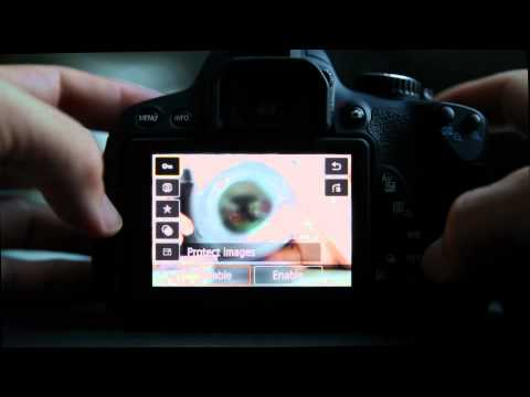 Canon T4i Menu System Explained