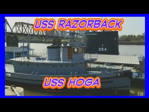 USS RAZORBACK, USS HOGA, ARKANSAS INLAND MARITIME MUSEUM