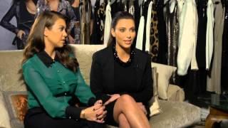 Kim and Kourtney Kardashian unveil Kardashian Kollection fashion line