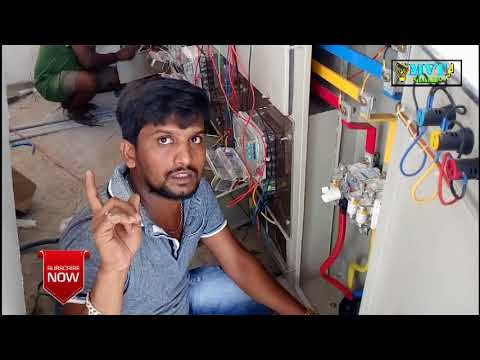 Transfer To  electrical panel Board Wiring Connection | Hind