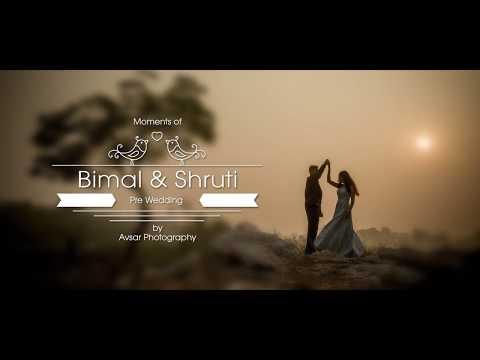 Bimal + Shruti Pre Wedding Shoot By Avsar...
