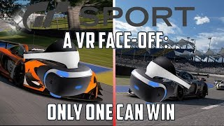 GT Sport: VR Face-off Is this another champion? PS4 vs PS4Pro - PSVR