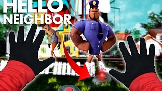 Minecraft VS Real Life Hello Neighbor - LAND MINES AND COPS!