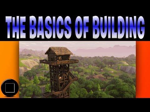 Fortnite - The Basics Of Building
