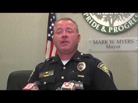 WATCH: Greenwood police discuss how a suspect escaped from a hospital