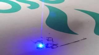 Graveur/Router/CNC laser piloté par GRBL Arduino