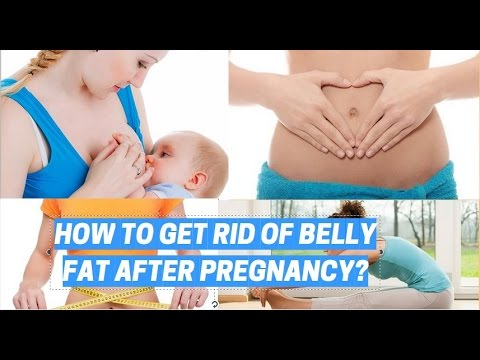 How to Get rid of Belly fat after Pregnancy ! How to Tighten Loose Skin after Pregnancy!  NEW[HD]
