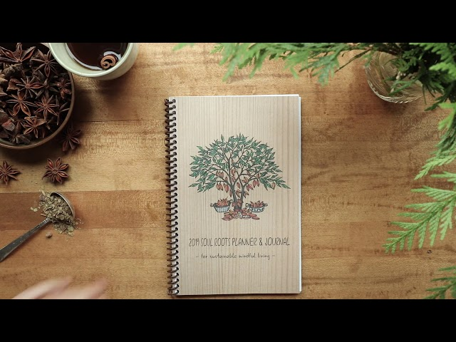 The 2019 Soul Roots Planner & Journal Has Arrived!