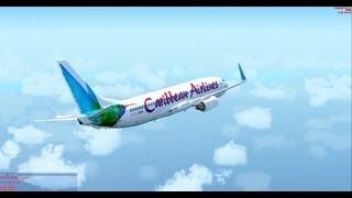 [FSX] 737-800 NGX Caribbean TTPP - MKJP + GSX + FS2Crew + REX Ess.