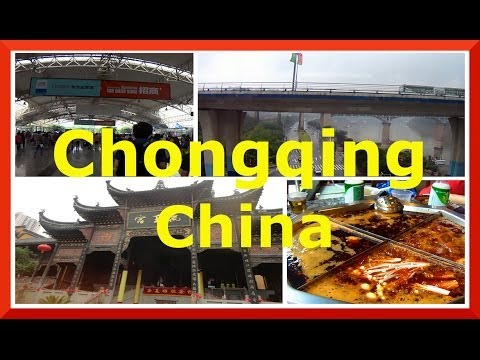 Chongqing, China day trip