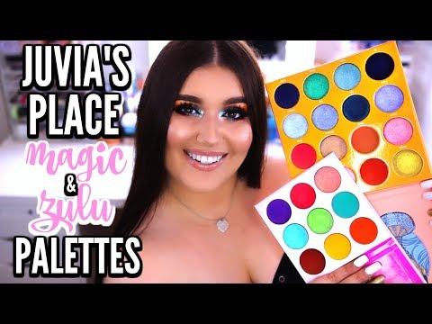 JUVIA'S PLACE Magic Palette & Zulu Palette | Review, Swatches & Makeup Tutorial ♡ Deanna Borocz