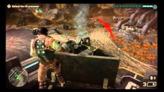 Starhawk - Story Campaign Activate Rift Processor  HD Gameplay Playstation 3 PS3