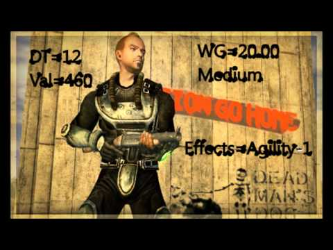 Fallout New Vegas: Courier's Stash Lightweight Metal Armour
