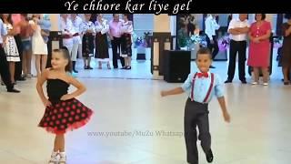 😎Jail Karawegi Re Chori  Kid version 😍  Cute Whatsapp status video