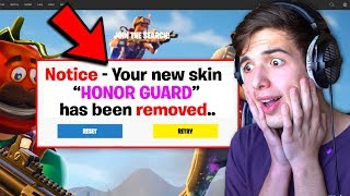 I GOT TROLLED BY RARE SKIN CODE.. (Fortnite)